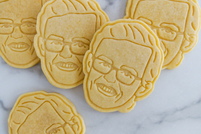 Tips for Making Portrait Cookies with a Custom Cookie Cutter