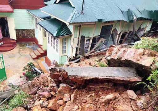 Alert in Mizoram after successive earthquakes