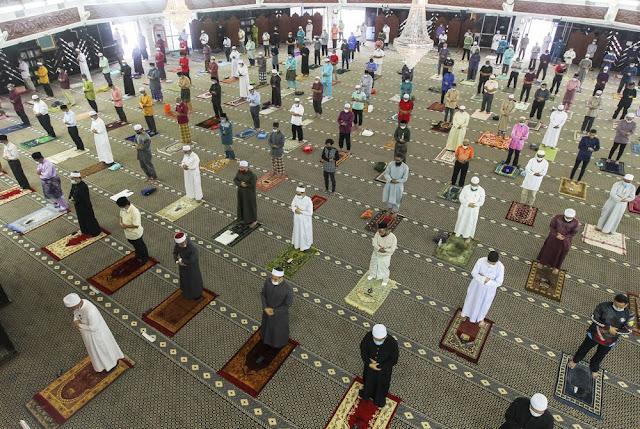 Pelaksanaan Solat Sunat Aidiladha Di Semua Masjid Dan Surau Di Selangor Adalah Secara 'First Come, First Serve'