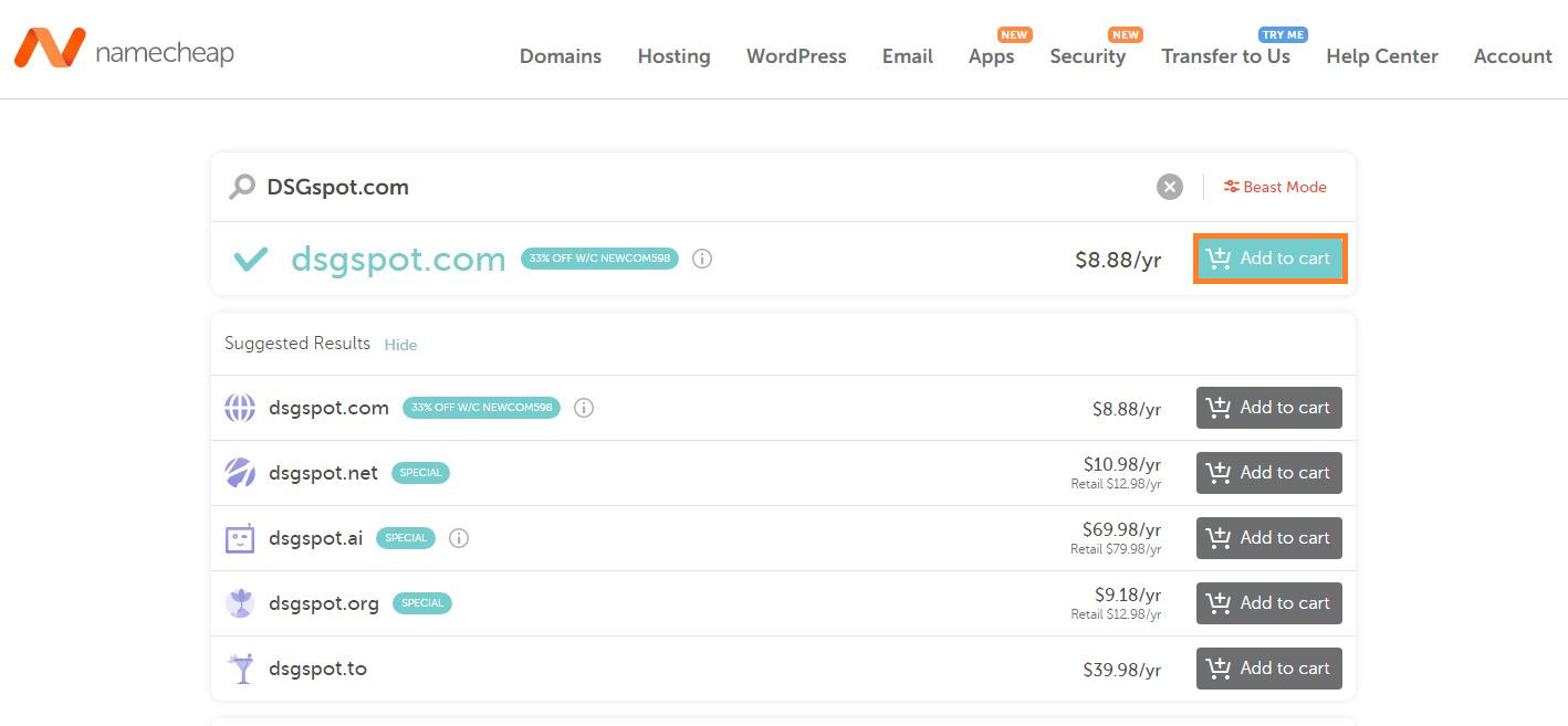 Get .Com Domain for $5.98 | Get .Com Domain for $5.98/year at Namecheap | how to Get .Com Domain for $5.98/year at Namecheap | Register the .com Domain for $5.98 | Register the Domain Name for $5.98/year at the Namecheap? | How to Register the Domain Name for $5.98/year at the Namecheap?