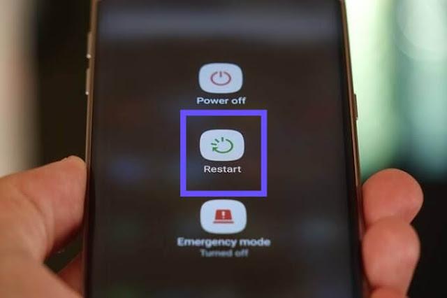 Cara Mengatasi Maaf Voucher Tidak Dapat Digunakan di Regional Anda Telkomsel Dengan Restart Smartphone