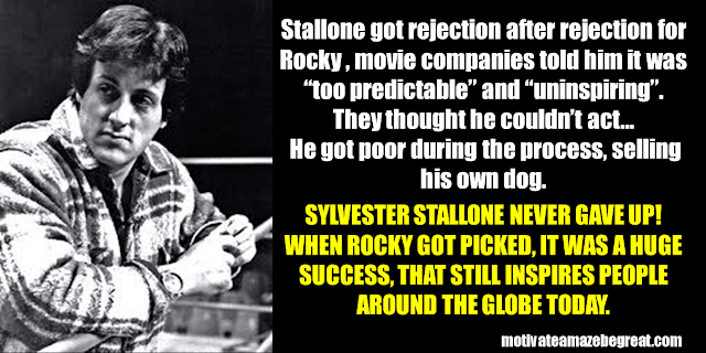 Success Stories From Famous People Who Failed Before Succeeding: Sylvester Stallone