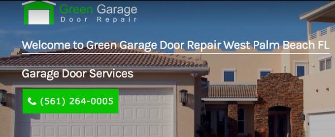 Emergency garage door repair service