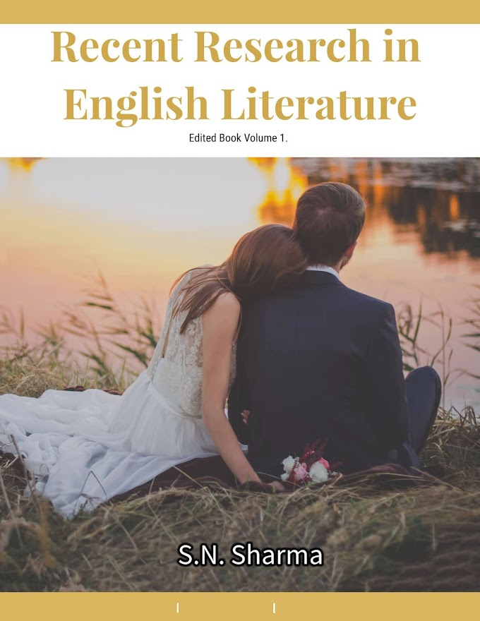 Recent Research in English Literature