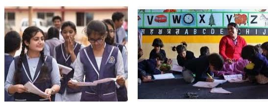 सभी बच्चों को प्री-प्राइमरी से माध्यमिक तक शिक्षा