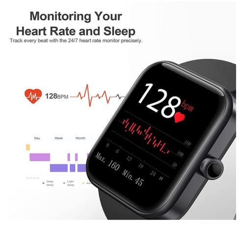 EEFINITE Advanced Health Fitness Smart Watch