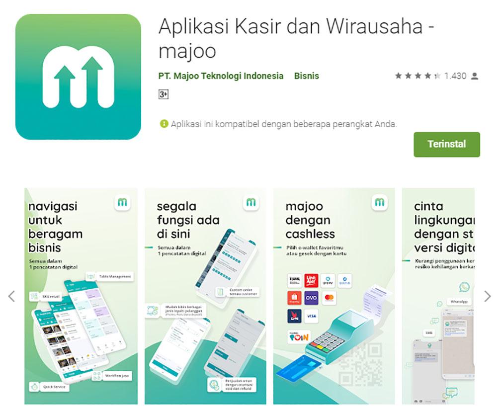 Rekomendasi Sistem Aplikasi Kasir/POS (Point of Sale) - Majoo