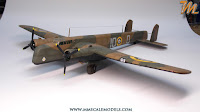Step by step build review of Fly's 1/72 scale British bomber.  Armstrong Whitley Mk. I scale model.