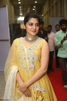 Nivetha Thamos in bright yellow dress at Ninnu Kori pre release function ~  Exclusive (28).JPG