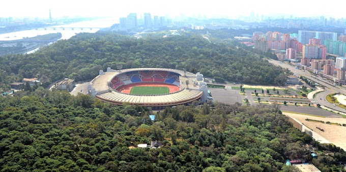 Kim Il-sung Stadium - North Korea's world cup venue