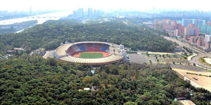 Kim Il-sung Stadium - North Korea's world cup venue