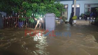 Akibat Luapan Air, Ribuan Rumah Terendam Banjir di Luwu