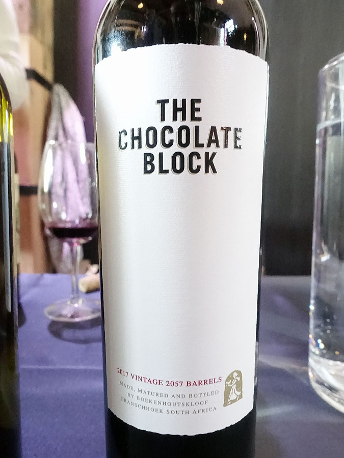 The Chocolate Block 2017 (91 pts)