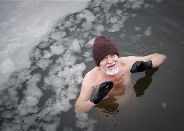 Eisbaden Fkk