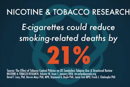 Inilah Efek Samping Rokok Elektrik Vape bagi Kesehatan