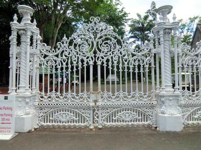 Haupttor Botanical Garden