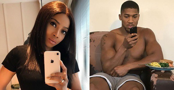 Toke Makinwa Outs Anthony Joshua Over Comment He Made About His Niece.