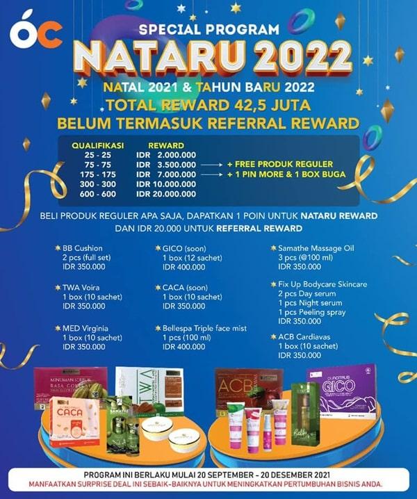Program NATARU (natal dan tahun baru) 2022