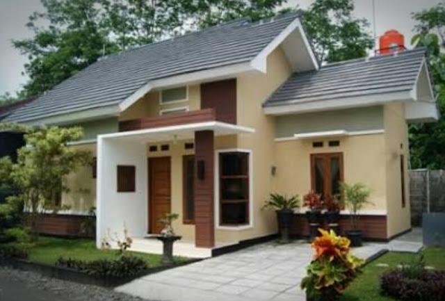 Bentuk Rumah Sederhana tapi Elegan dan Mewah, gambar rumah sederhana di desa
