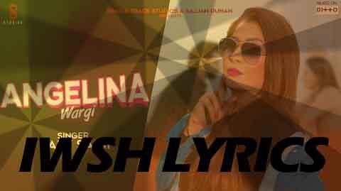 Angelina Wargi Lyrics New Song Lyrics 2020