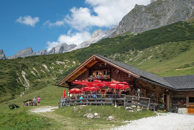 Vier-Hütten-Wanderung Mühlbach  Wandern am Hochkönig  Wanderung SalzburgerLand 15