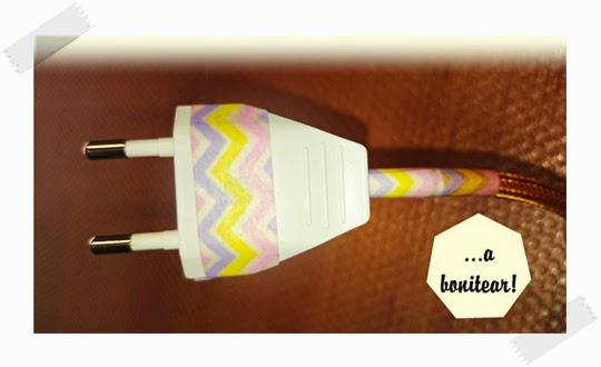 crear-una-lampara-con-cable-textil