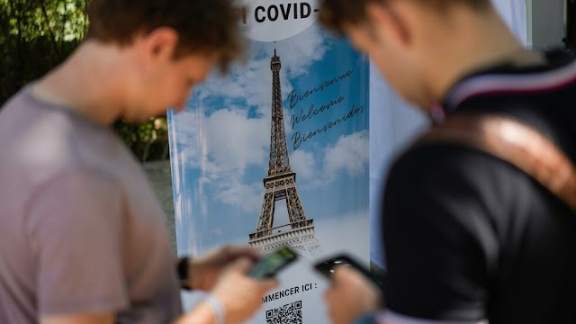 The US State Department warns citizens against travel to France over Covid-19 concerns