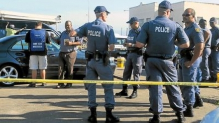 Five South African police beat Nigerian to death