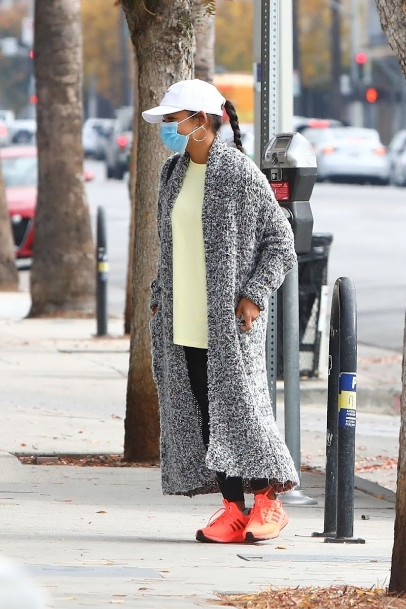 Christina Milian Clicked Outside in Los Angeles 11 Dec-2020