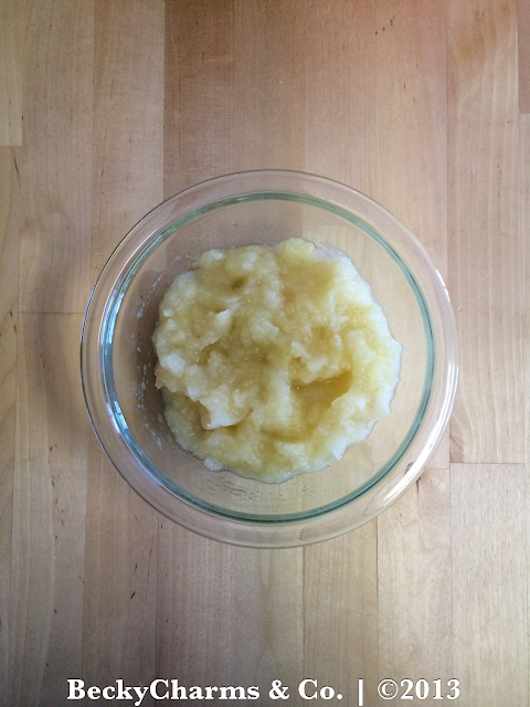 Natural Homemade Applesauce with TinyBaker : A Mommy and Me Recipe 2013 by BeckyCharms