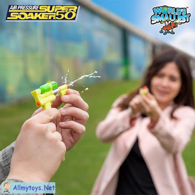 World smallest Nerf Super Soaker 1