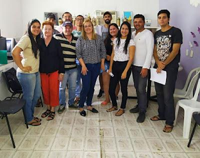 Equipe responsável pela ornamentação natalina em Santo André se reúne com Prefeita Silvana Marinho