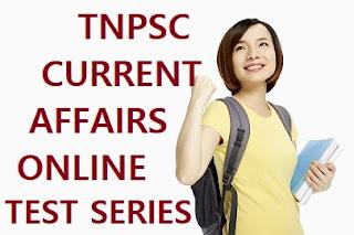 TNPSC Current Affairs Online Test - 12