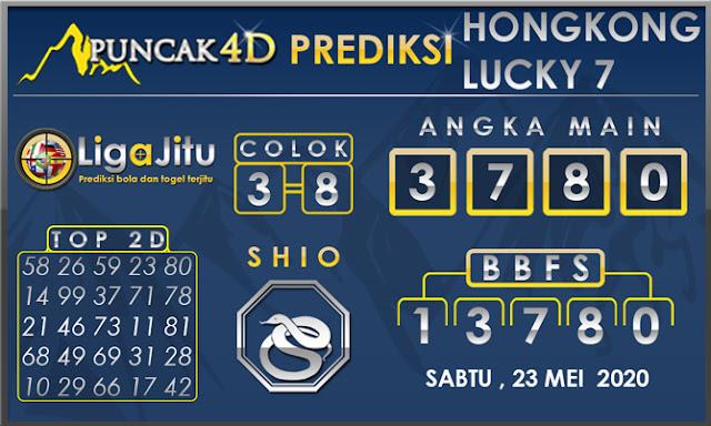 PREDIKSI TOGEL HONGKONG LUCKY 7 PUNCAK4D 23 MEI 2020