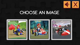 Jogue Mario Kart Jigsaw online grátis