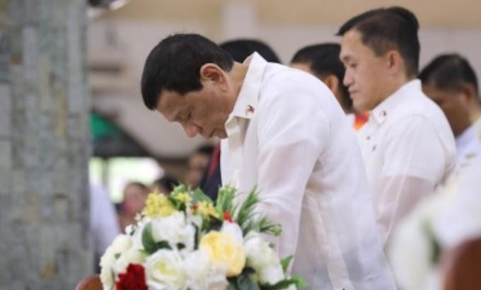 President Duterte announces he's quitting politics in 2022