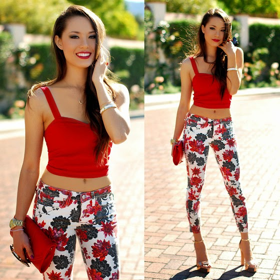 5050b602a7fdd Catwalk with PAT  CWP Style  Crop Top is Trending!