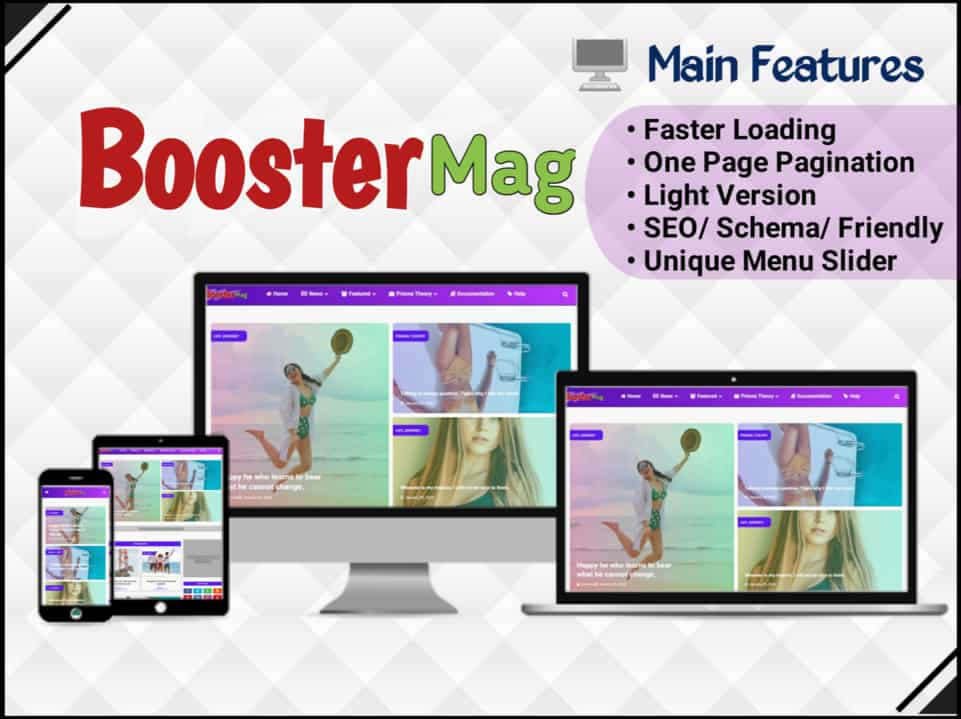 Booster Mag Template
