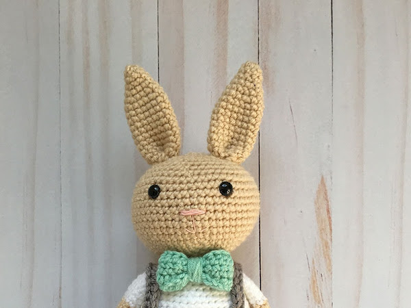 Berry Patch Bunny Boy Version - A Free Amigurumi Pattern