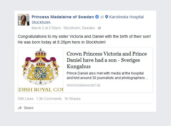 Prince Oscar Carl Olof, Princess Madeleine, Princess Sofia, Sweden Royal Family