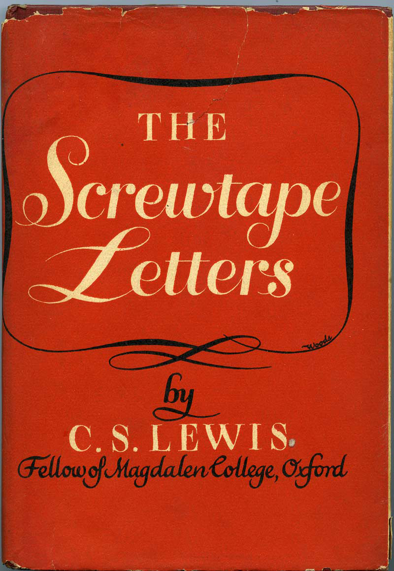 dont be put off by the fact that screwtape letters appears to be a conversation between two demons it is not so much a dialogue between devils as it is a