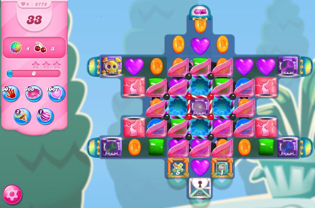 Candy Crush Saga level 8778