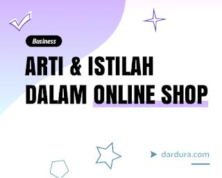 Arti Japri, Overload, Fast Respon dan Istilah-istilah dalam Online Shop