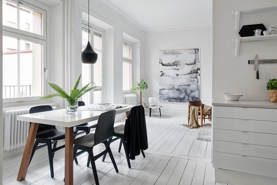 Muebles de comedor mesas de comedor de estilo nordico for Mesa comedor estilo nordico