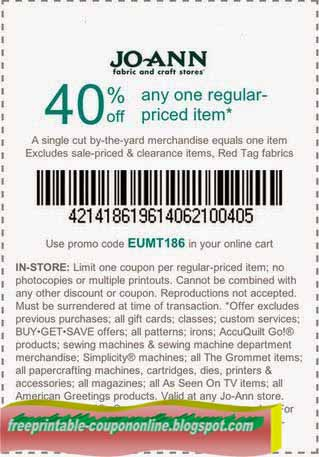 Online fabric store coupon 2018