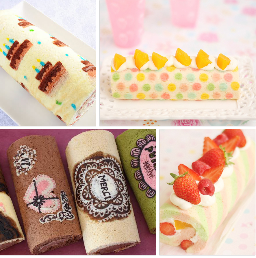 Japanese Deco Roll Cake Recipe
