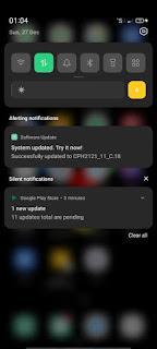 cara download color OS 11