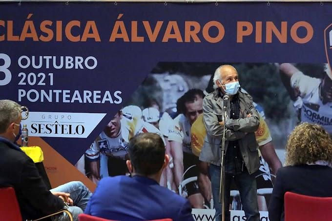 El Concello de Ponteareas, homenajea a Álvaro Pino en su 35 aniversario de la victoria de la Vuelta a España, y hablan de su Marcha Cicloturista