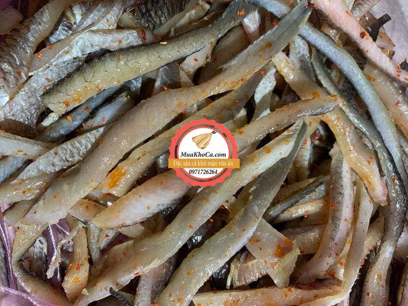 Khô Cá Lóc Xẻ Sợi