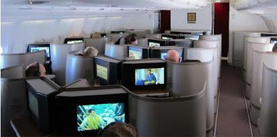Fasilitas Business Class Garuda Indonesia